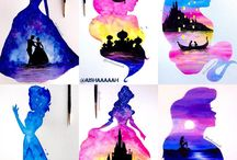 Disney waterpaint