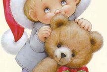 Christmas-pinturas / natalinos