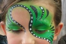 Face painting / Face painting ideas for the kids at work.