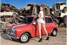 voiture & mini austin
