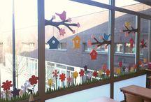 raam decoratie