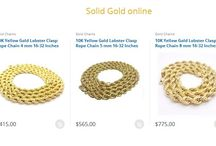 Buy Most Delightful Rope Gold Chain at Best Price
