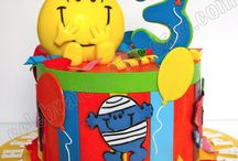 Mr Men party Luwan 1 jaar oud