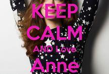 <3 Keep calm: Anne Hathaway <3 / Este tablero lo he creado para tener todos los Keep calms de  Anne Hathaway :)