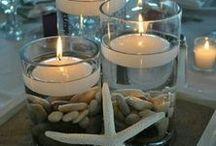creative / Candles, centerpieces, creative decorations