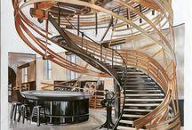 Interior Design: Staircases