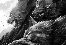 Catch wolf - F