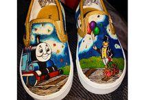 Shoes - Thomas / Thomas the ttrin tekkies
