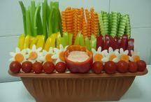 Food Platters-Veggie,fruit,meat,etc. / by Diane Smith