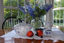 Blue and White / My favorite decor