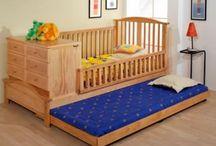 cuna y cama de bebe