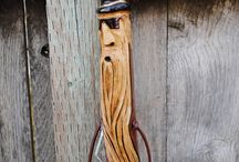 Art - woodcarvings and canes / by ouida brady