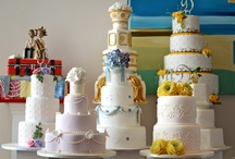 Wedding Cakes / Photos from the most yummy, delicious and good looking cakes you can use on your wedding day. It's all about cake here!