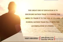 FOR BBA, MBA, SHORT TERM COURSES PLEASE VISIT OUR SITE http://lincoln-edu.ae, http://uae.gbsge.com
