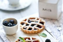 Food Photography - Pies and Tarts