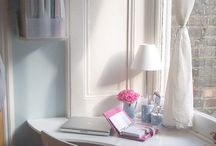 Home Office in a Bedroom / by Lisa @ Organize 365