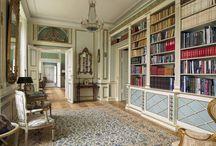 Herregård biblioteker