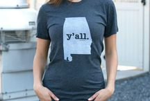 "Y'all T-Shirts / Our Y'all T-shirts are the perfect way to celebrate your state pride and the use of ""y'all."""