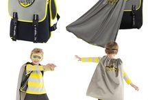 Superhero Backpacks for kids / by DaphDaph