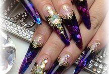 Arte unghie a stiletto