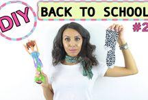 BACK TO SCHOOL / Sur ce tableau je partage mes videos BACK TO SCHOOL / WORK , des astuces et DIY qui peuvent des fois simplifier notre quotidien .
