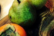 Autumn Food-秋の味覚 / Autumn brings with it a harvest of delicious tastes. 秋の楽しみは栗、キノコ?