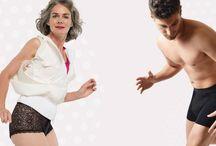 Confitex UK .......#liveyour life #don'tholdback / Fashionable, functional, washable underwear for bladder leakage.