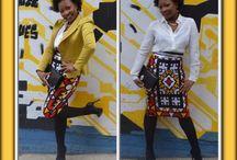 Ebonycitydesign / Petites pieces sympa en Wax à porter au quotidien.