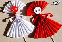 Bricolage papier boîte oeufs