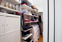 Wardrobe and walk in closet / by Nordic Home