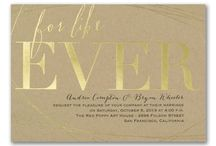 Kraft Paper Invitations / Kraft paper- the perfect combination of color and texture. These beautiful designs are all available at Persnickety Invitation Studio.