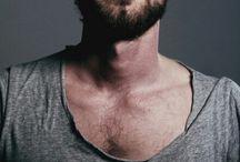 M E N / Men's style,  bearded and tattooed men...MEN.