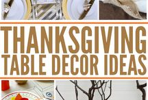Thanksgiving Ideas / by Jenn Peters | Because I'm Cheap