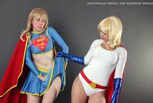 Power Girl / Muchas de Power Girl