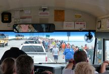 58th annual Mackinac Bridge Walk / Annual Mackinac Bridge Walk was a little damp this year but that did not stop another record turn out.