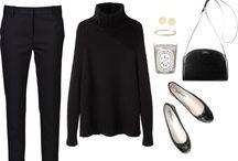 style: black/grey/white