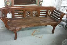 Furniture We Love / Garden, antique, vintage, classic, ethnic and one of a kind furniture