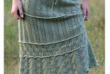 pletené sukne