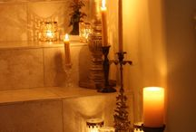That Candlelight / Candles, candlelight, romantic candlelight, candle holders, scented candles, candle centrepieces, candles in fireplace