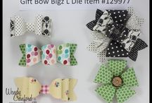 Stampin up bow die