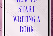 How to write a book.