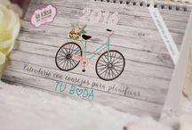 Calendario para planificar tu boda / Calendario para planificar y organizarte en cada paso de tu boda. Incluye pegatinas y consejos ¡No te lo puedes perder!