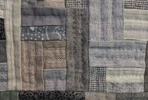 Japonský patchwork / Japanese taupe quilts