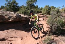 Moab Utah Riding for Kids and Families / Riding shots of various favorite family friendly trails in Moab Utah.
