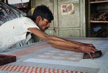 Block printing - India