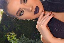 Holliday makeup