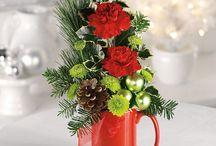 Hazlo tú mismo!!! / Unas pocas flores, un elemento casero y... voilà!!! Un simpático centro para cualquier rincón de tu casa.