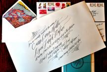 calligraphy, fonts and fun letters