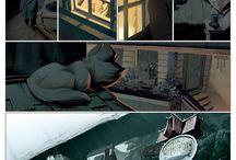 graphics, novels & comix