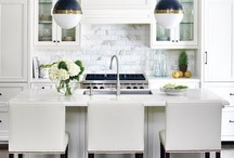 White kitchens / by Meridith Moore